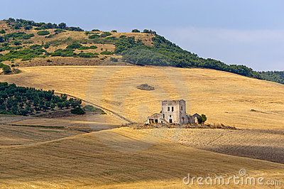 Between Puglia and Basilicata (Italy), landscape