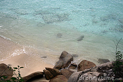 Pulau Perhentian beach and sea