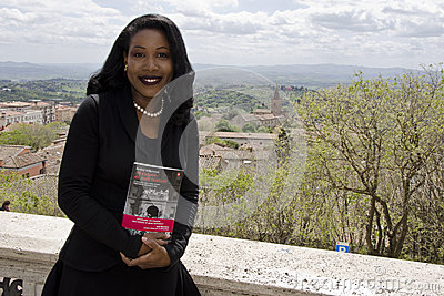 THE PULITZER ISABEL WILKERSON IN ITALY Editorial Stock Photo