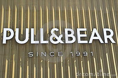 Pull And Bear Logo Editorial Photo