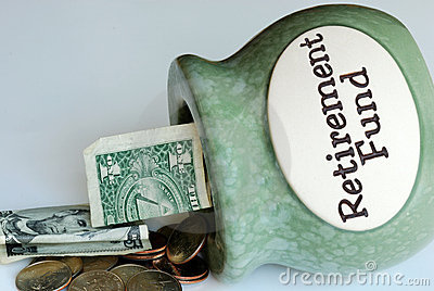 Pull out some money from the Retirement Fund jar