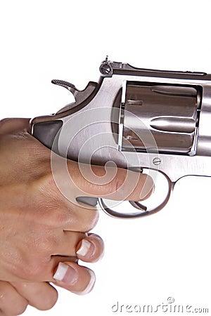 Pulling trigger