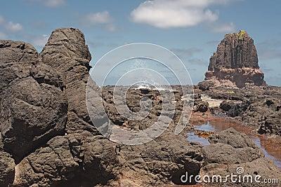 Pulpit Rock and splash