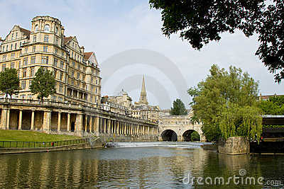 Pultney Bridge Bath England
