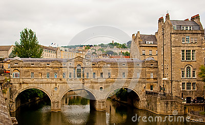 Pultney Bridge, Bath, UK