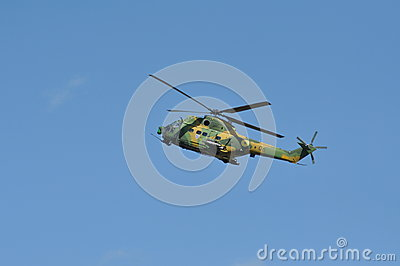 Puma helicopters in flight during a Military Parade Editorial Image
