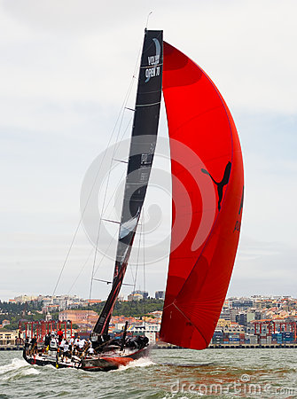 Puma Ocean Racing Powered by Berg Propulsion Editorial Photo