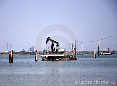 Pump Jack in the Bay