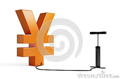 Pump yen