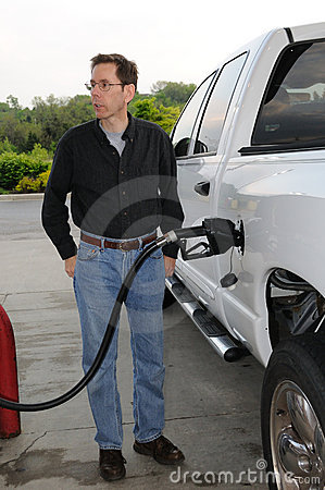 Free Pumping Gas Stock Photography - 5583822