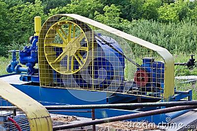 Pumping installation