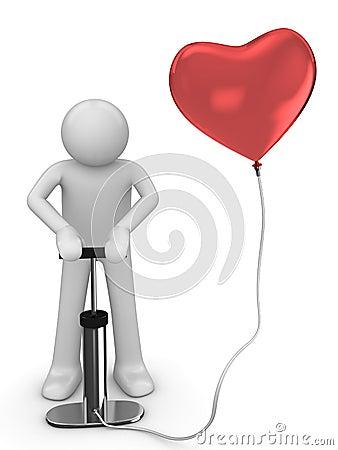 Pumping love baloon