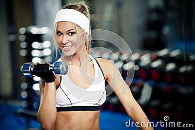 Pumping up biceps