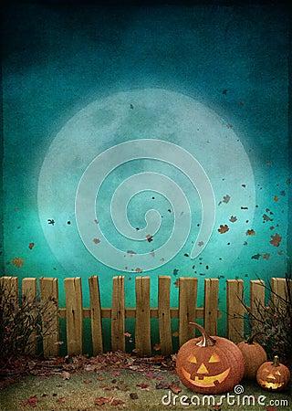 Free Pumpkin At Fence Stock Photos - 73972233