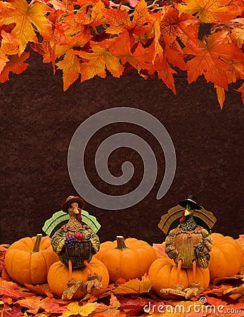 Free Pumpkin Border Stock Image - 6680501
