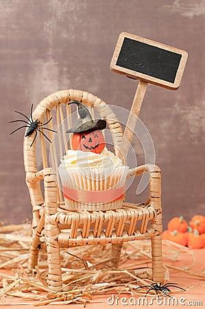 Pumpkin Cake For Halloween
