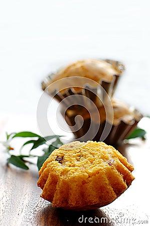 Pumpkin-Cheese Muffins