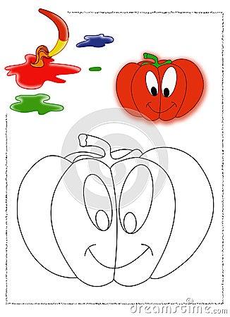 Pumpkin coloring