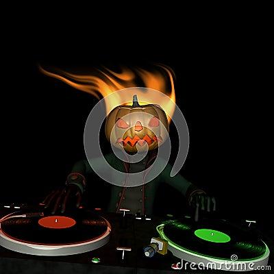 Pumpkin Head DJ 1