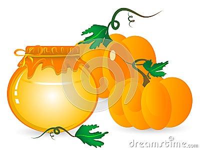 Pumpkin marmalade