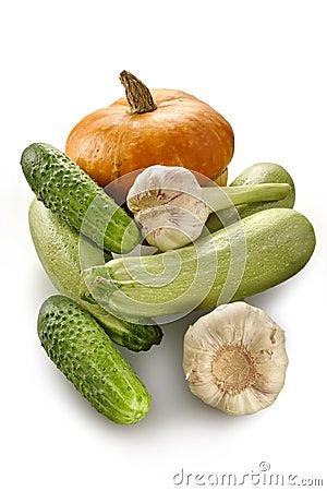 Pumpkin, marrows, cucumbers