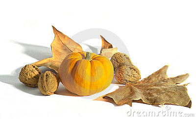 Pumpkin and nuts