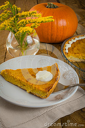 Free Pumpkin Pie And Mimosa Stock Photos - 60992203