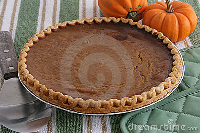 Pumpkin Pie - Fresh From Oven