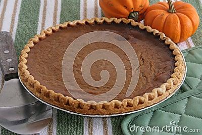 Pumpkin Pie - Fresh From Oven