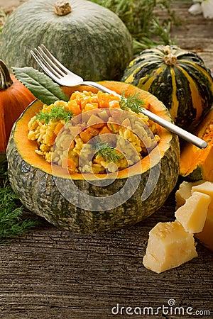 Free Pumpkin Risotto Royalty Free Stock Image - 16922156