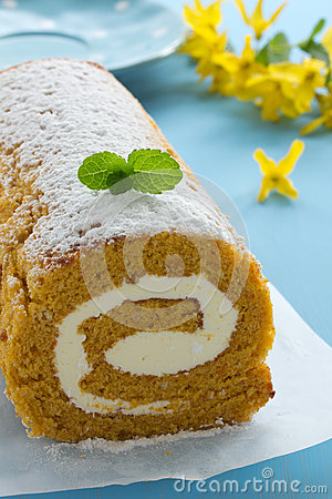 Free Pumpkin Roll Royalty Free Stock Photography - 30499917