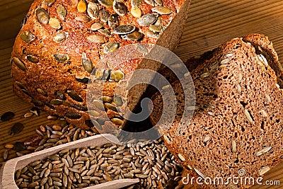 Pumpkin seed bread