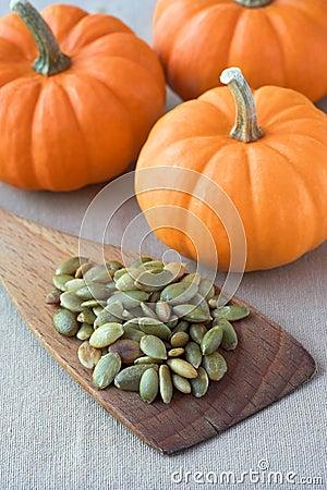 Pumpkin seeds salted