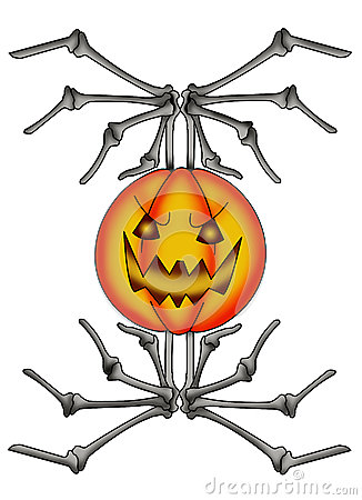 Pumpkin skeletal