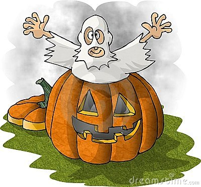 Pumpkin Spook Royalty Free Stock Photo - Image: 30675