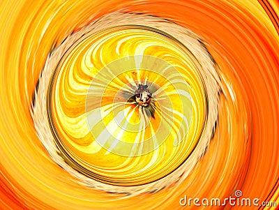 Pumpkin twirl