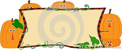 Pumpkins Banner