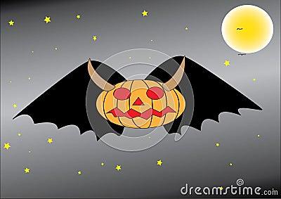 Pumpkn bat