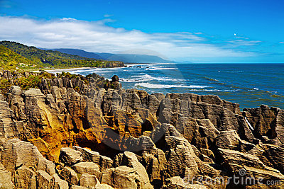 Punakaiki Pancake Rocks, New Zealand