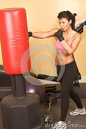 punch girl kickboxing workshop