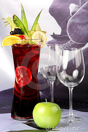 Free Punch Is Beautifully Decorated Stock Images - 9342084