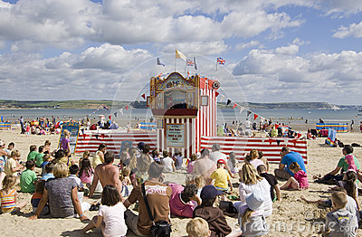 Punch and Judy Show, Weymouth Editorial Image