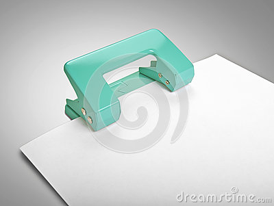 Puncher iand paper sheet