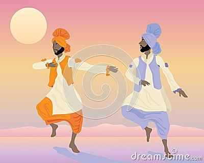 Punjabi dancers