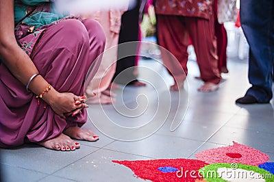 Punjabi Wedding Ceremony