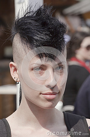 Punk fashion Editorial Photo