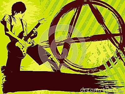 Punk rock för bakgrund