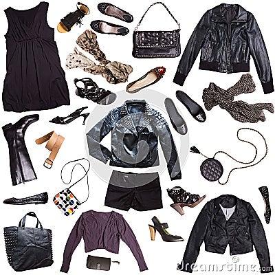 Free Punk Rock Style Clothing Royalty Free Stock Image - 26143596