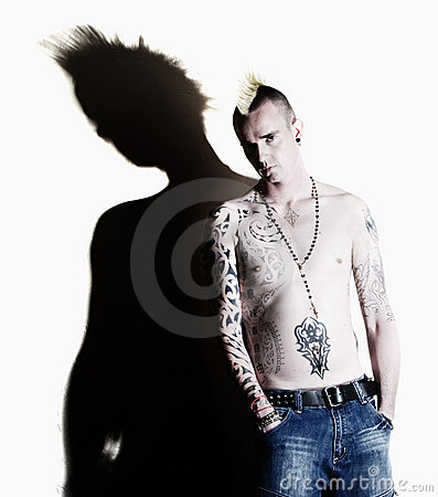 Free Punk With Tattoos Royalty Free Stock Photo - 6737015