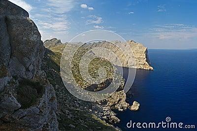 Punta de la Nao, Majorca, Spain.